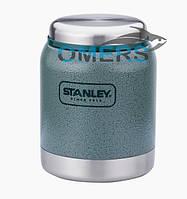 Термобанка для еды Stanley 0,41 л зеленая , фото 1