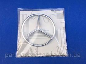 Значок емблема на кришку багажника Mercedes SL SL-Class R107 W107 1986-89 нова оригінал