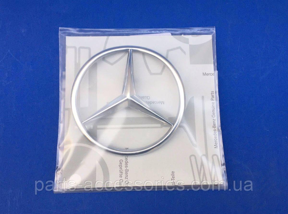 Значок эмблема на крышку багажника Mercedes SL SL-Class R107 W107 1986-89 новая оригинал