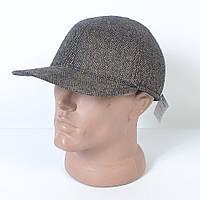 Стильная мужская теплая кепка на флисе с ушками - Dragon - 29-541