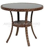 Стол плетеный из ротанга  VENEZIA D 80см