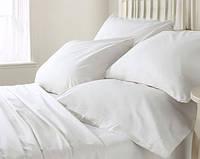 Комплект постельного белья белый (полуторный)