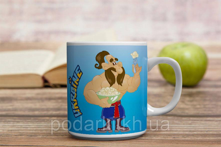 Чашка українські галушки