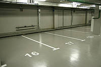 Полиуретановые наливные полы для гаража и паркинга