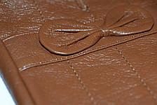 Цветные кожаные перчатки Средние, фото 2