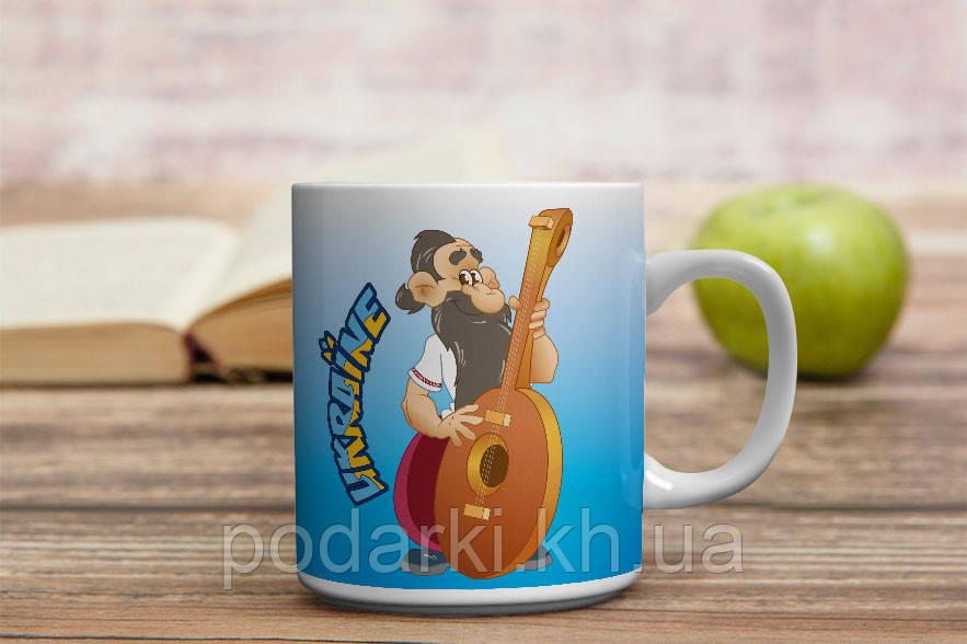 Чашка музична Україна