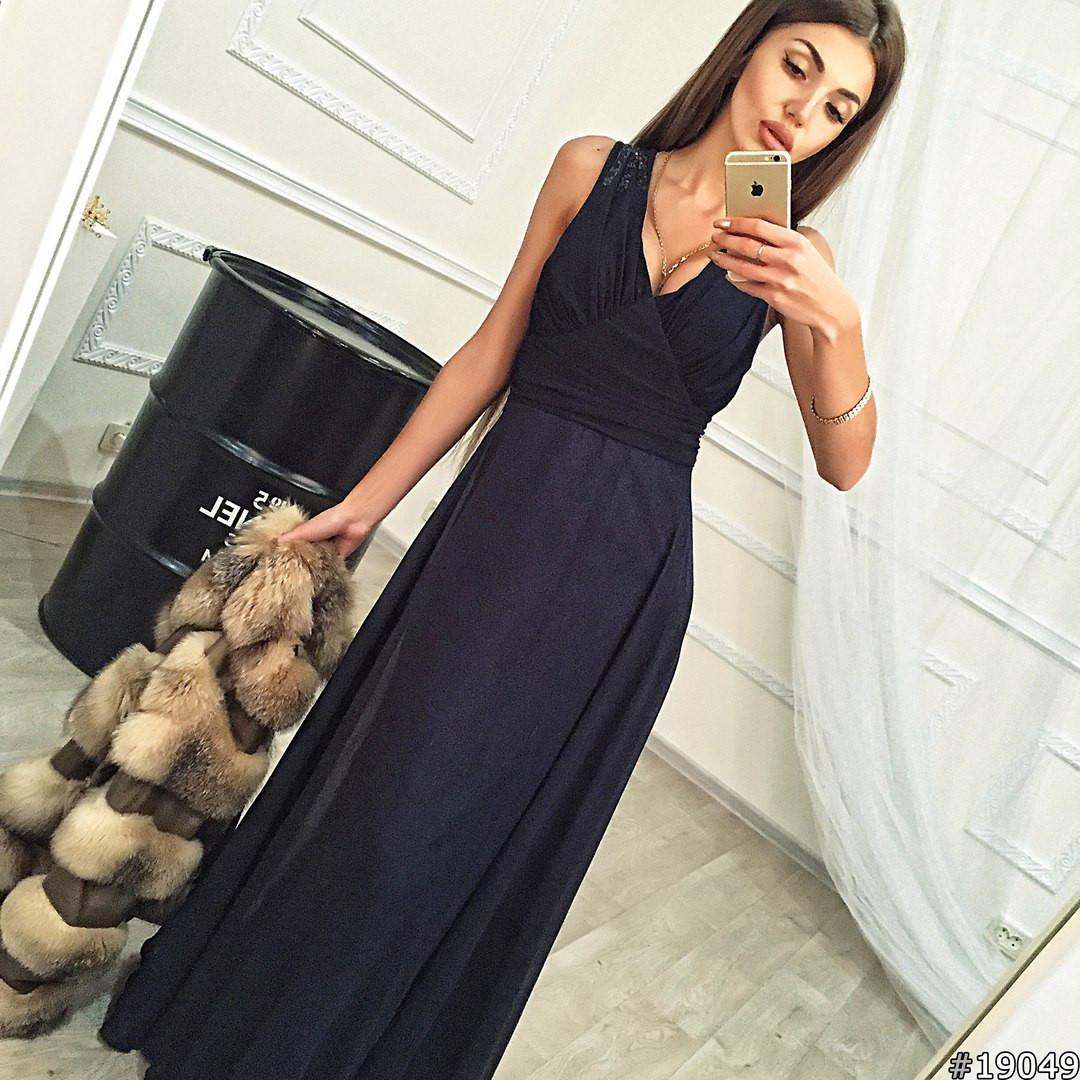 40d8e12c958 Элегантное женское платье в пол