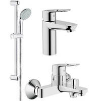 Набор смесителей для ванны BauLoop (23337000+32815000+27598000)