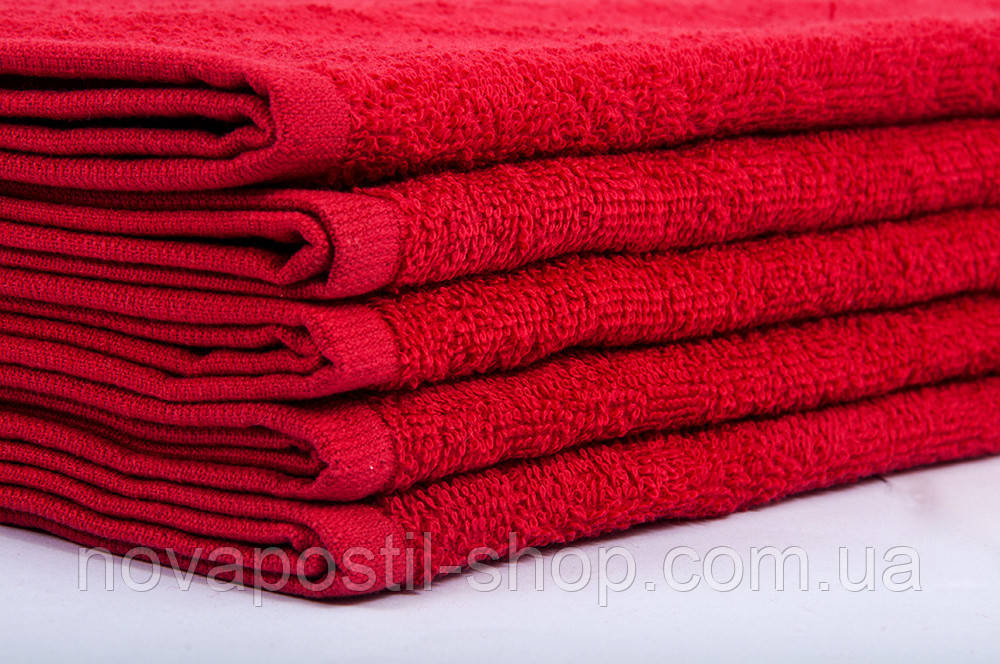 Полотенце Lotus 40х70 см красный Varol плотность 420