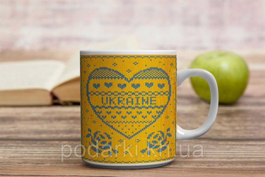 """Чашка """"Українське тепло"""""""