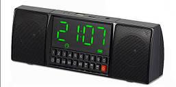 Портативная колонка MP3 часы WS-1515 bluetooth