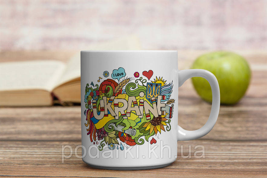 "Яскрава чашка ""Барви України"""