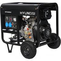 Генератор HYUNDAI DHY 6000 LE (5.5 кВт,10 л.с., дизель, стартер) БЕСПЛАТНАЯ ДОСТАВКА!