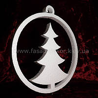 Новогодний декор_Шар и елка (50 см)