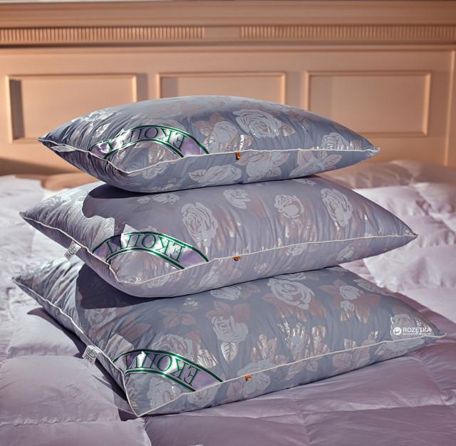 Подушка полупуховая