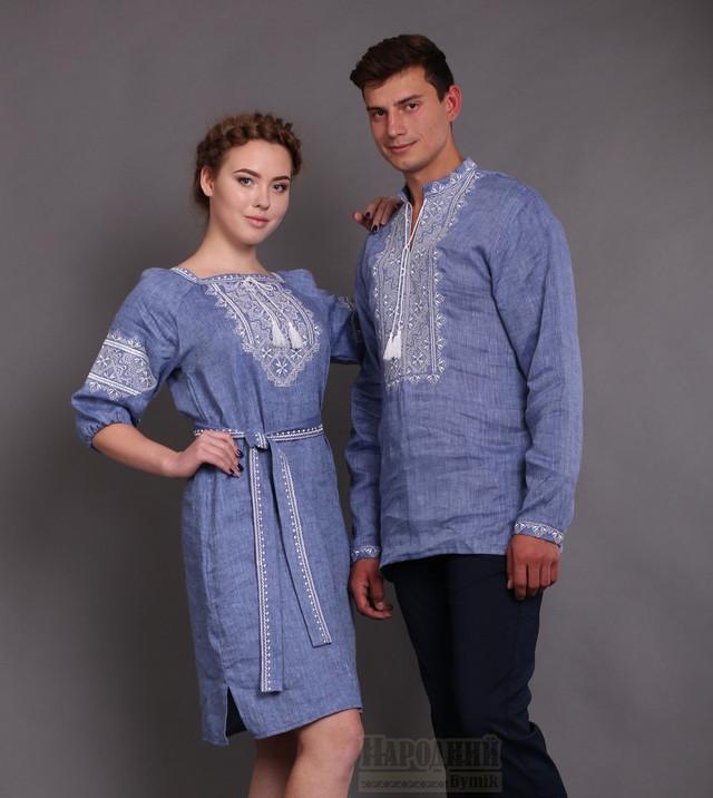 Платье и вышиванка твори мир