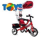 Трехколёсный велосипед для детей, красный, XG18919-T12-3
