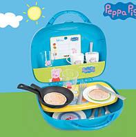 Мини-кухня в чемоданчике Свинка Пеппа Smoby 310602