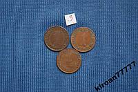Германия 1 рейхспфенниг 1931 г A  E  3шт