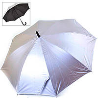 Зонт-трость женский двусторонний полуавтомат FARE (ФАРЕ) FARE7119-silver-black