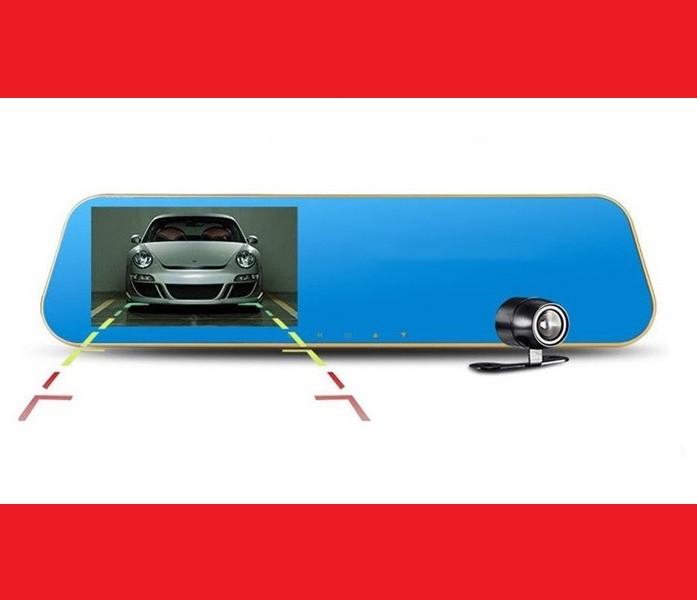 DVR 4302 Full HD Зеркало заднего вида с видео регистратором