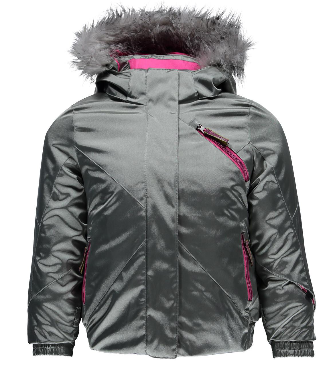 Горнолыжная куртка Spyder Bitsy lola silver/bryte bubblegum (MD)