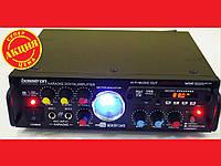 Усилитель звука Bosstron ABS-339U USB + Fm + Mp3 + КАРАОКЕ, фото 1