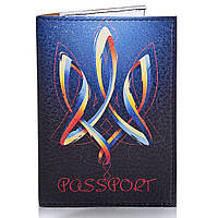 Мужская обложка для паспорта PASSPORTY (ПАСПОРТУ) KRIV138
