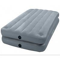 Односпальная надувная кровать Intex 67743 2-IN-1 AirBed 99 х 191 х 46 см(без насоса)