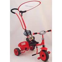Велосипед 3-х колёсный Baby Mix с ручкой-толкателем красный