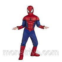 Делюкс Костюм Людина павук з мускулатурою і веб-шутерами Spider-Man