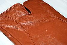 Женские цветные кожаные перчатки Маленькие, фото 2