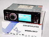 "Автомагнитола Pioneer 3017 - 3"" Video экран -Divx/mp4/mp3 USB+SD, фото 3"