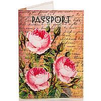 Женская обложка для паспорта PASSPORTY (ПАСПОРТУ) KRIV092