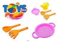 Песочный набор для детей «Фантазия» с лейкой, 39056