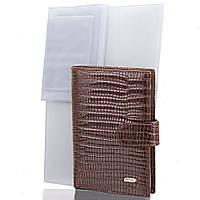 Мужское кожаное портмоне (кошелек) с органайзером для документов DESISAN (ДЕСИСАН) SHI101-142