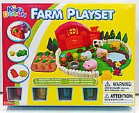 """Тесто для лепки Kid's Dough набор """"Ферма"""" FARM PLAYSET 11642"""