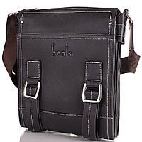 Мужская сумка через плечо из качественного кожезаменителя BONIS (БОНИС) SHIXS8476-black