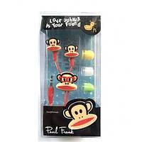 Детские наушники Disney, Paul Frank, 3.5 mm /наушники для детей с обезьяной