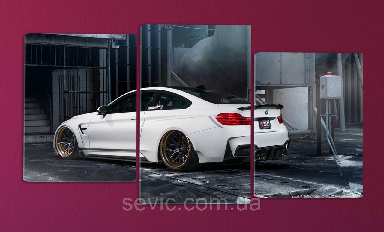 """Модульная картина """"BMW"""""""
