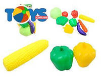 Набор игрушечных продуктов «Овощи»