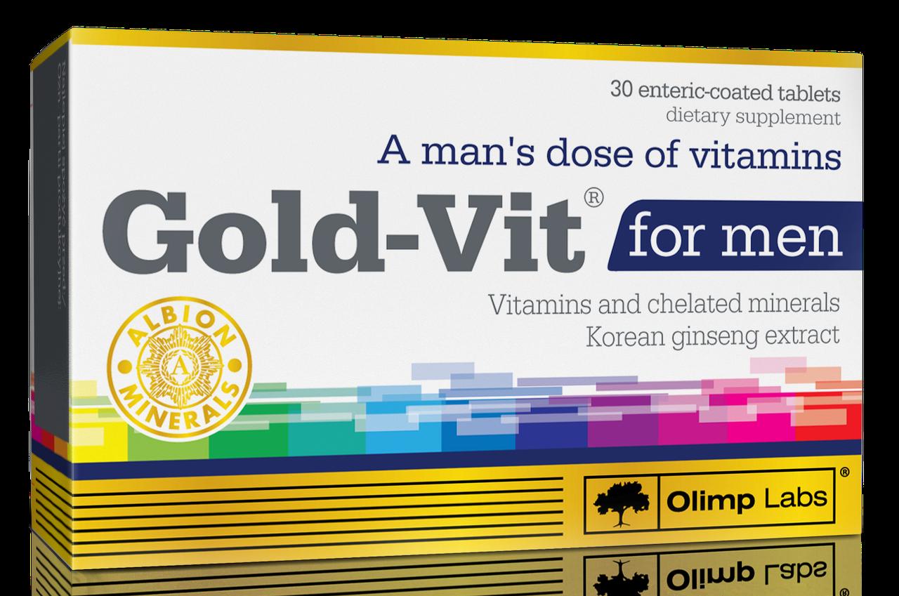 Olimp Gold-Vit for men 30 tabs