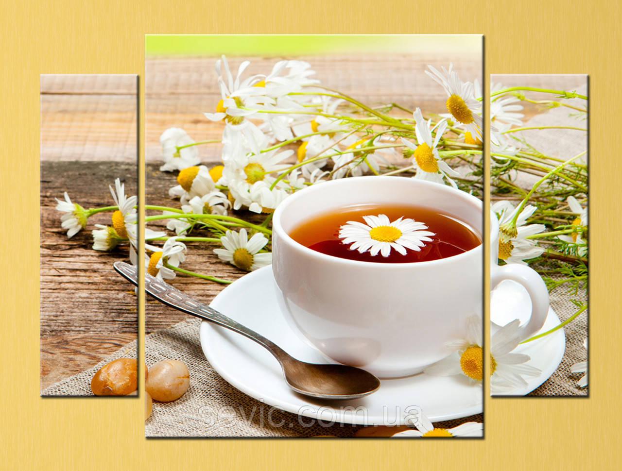 "Модульная картина ""Чашка чая"""