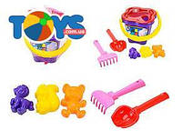 Песочный набор для детей с ведерком, 01-104