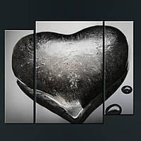 Модульная картина Сердце изо льда