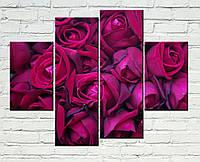 "Модульная картина ""Букет роз"""