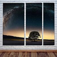 """Модульная картина """"Млечный путь"""""""