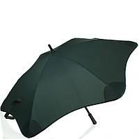 Противоштормовой зонт-трость мужской механический BLUNT (БЛАНТ) Bl-mini-forest-green