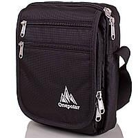 Мужская спортивная сумка ONEPOLAR (ВАНПОЛАР) W5633-black