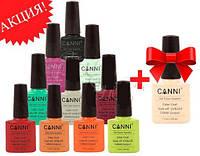 Акция! 10 гель-лаков CANNI + гель-лак CANNI в подарок!